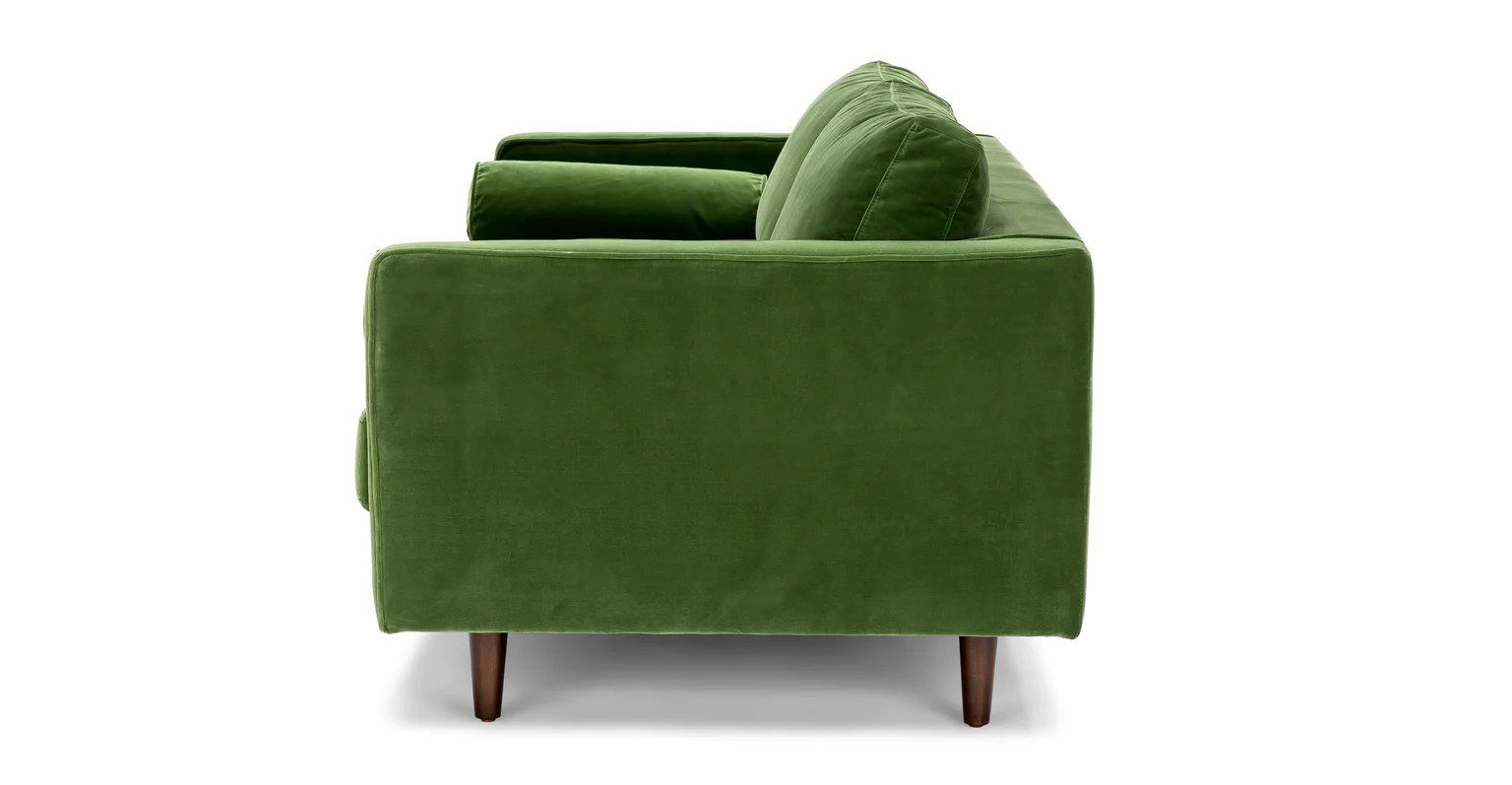 "Sven Grass Green 72"" Sofa"