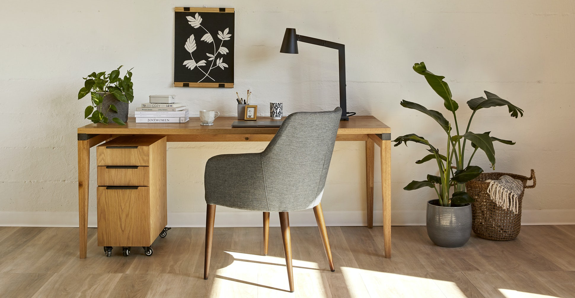 Feast Gravel Gray Dining Chair