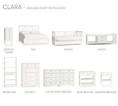 Clara Tall Dresser, Sky White