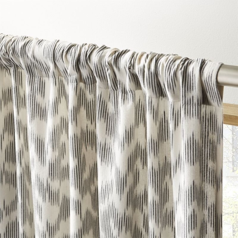 "Melfi Ikat Curtain Panel 48""x96"""