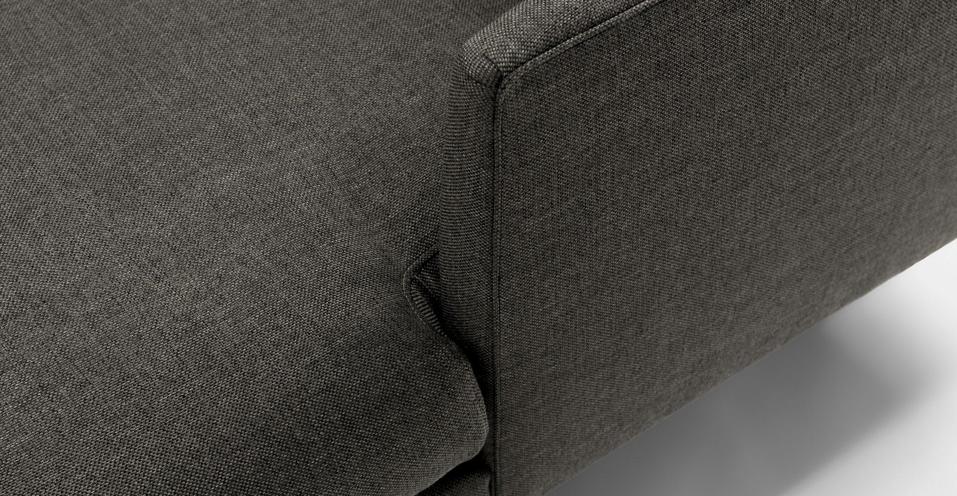 Burrard Graphite Gray Right Sectional Sofa