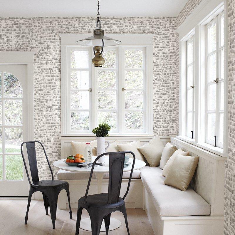 """Gaudet Brushstrokes 33' L x 20.5"""" W Abstract Wallpaper Roll"""