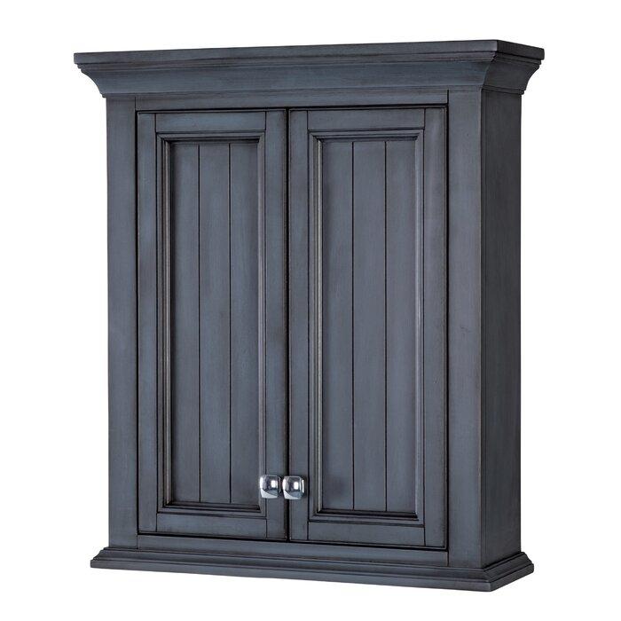"Morrilton 24"" W x 28"" H x 8"" D Wall Mounted Bathroom Cabinet"