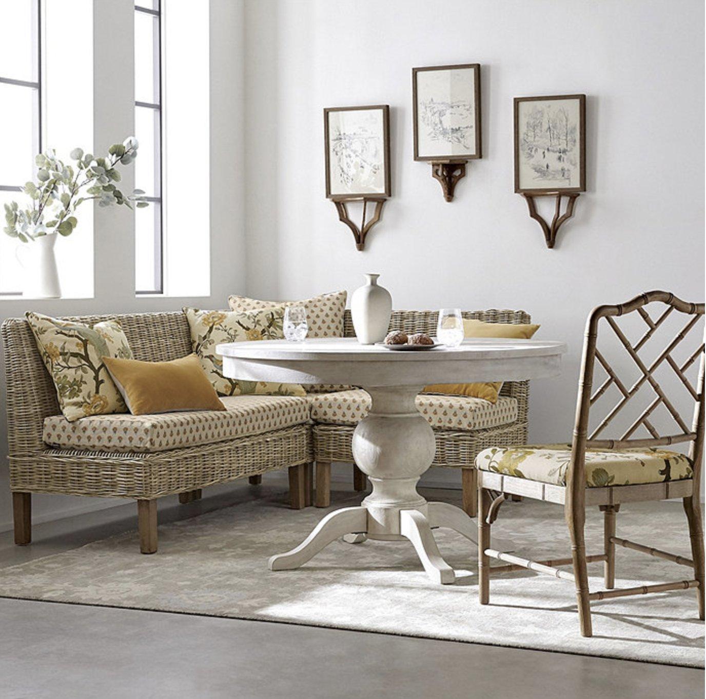 Ballard Designs Alva Extension Dining Table