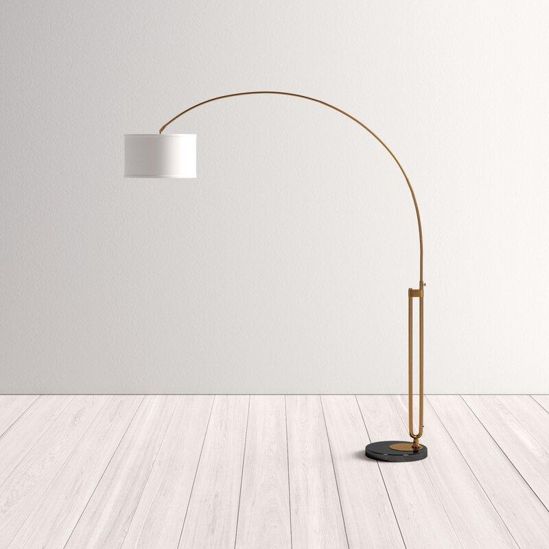 "Lorena 84"" Arched Floor Lamp"