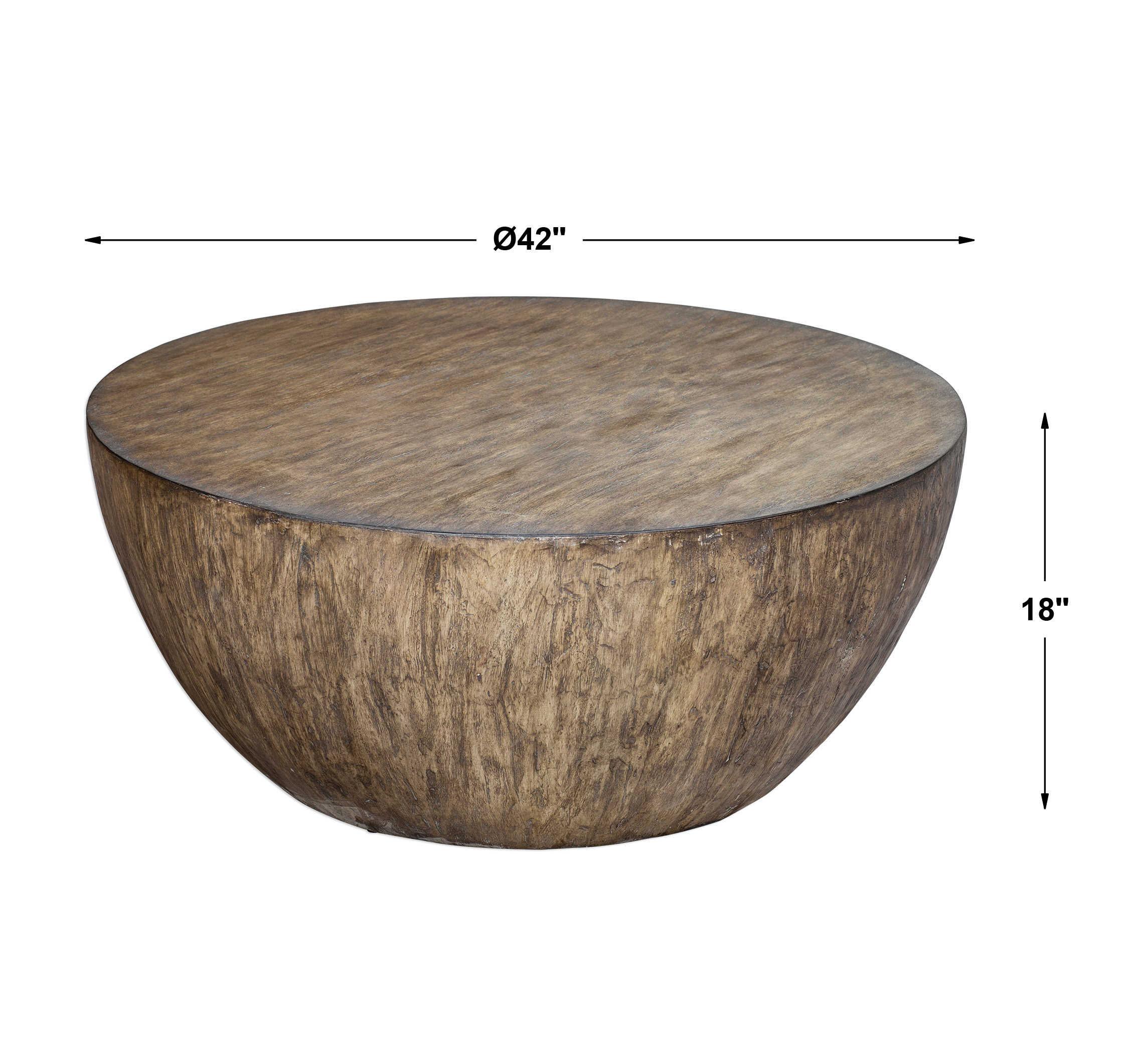 Bjarne Coffee Table, Aged Walnut
