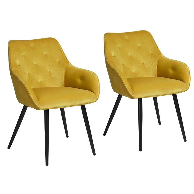 Souza Tufted Arm Chair