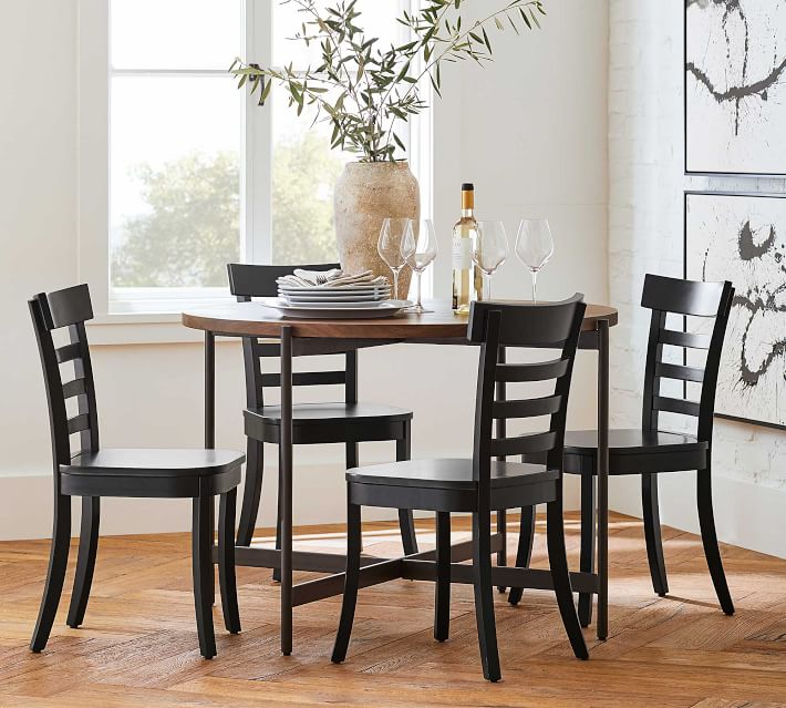 Liam Dining Side Chair, Black