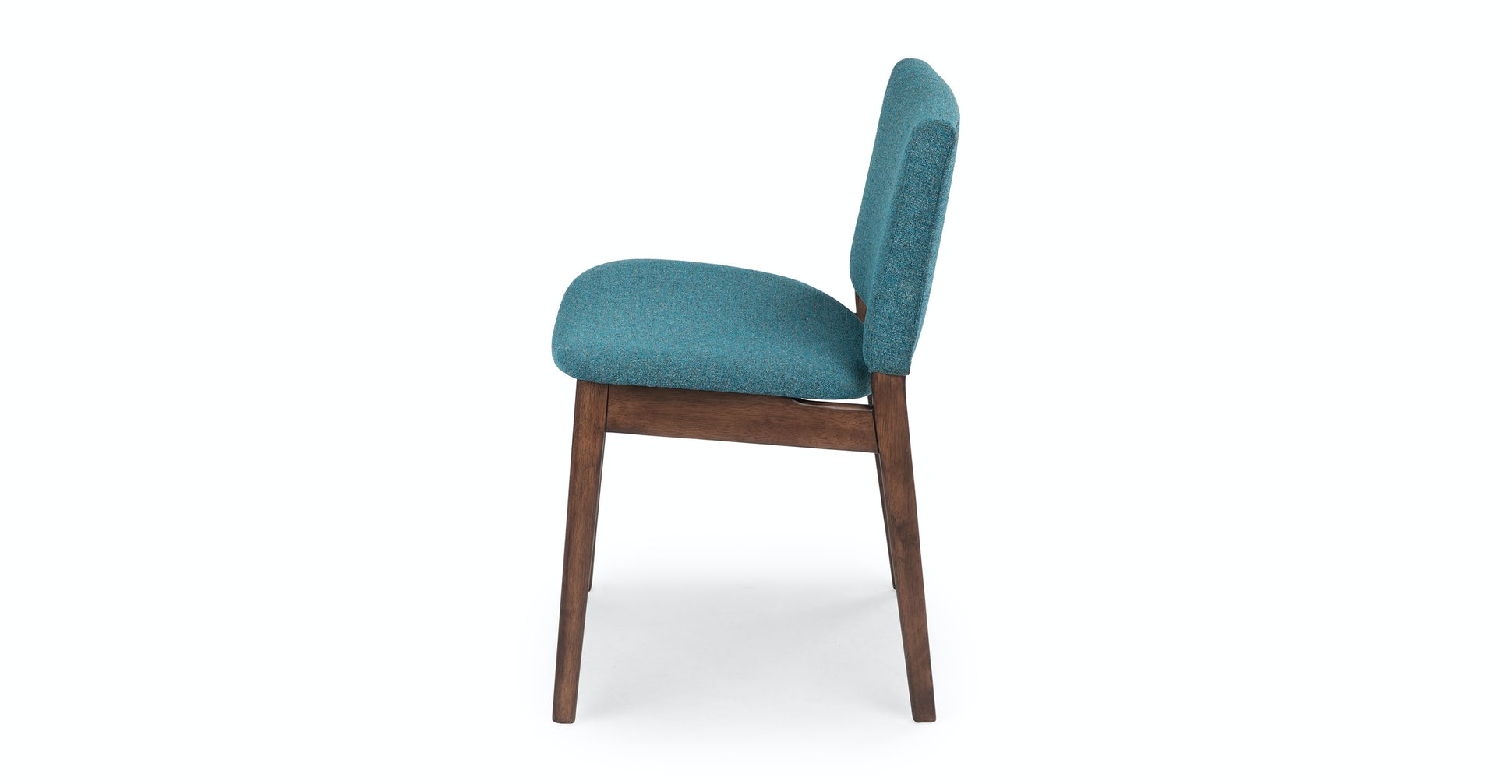 Nosh Andaman Blue Walnut Dining Chair