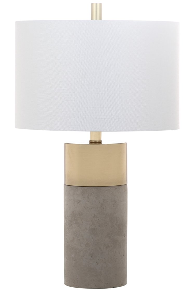 Oliver Table Lamp, Set of 2, Gray