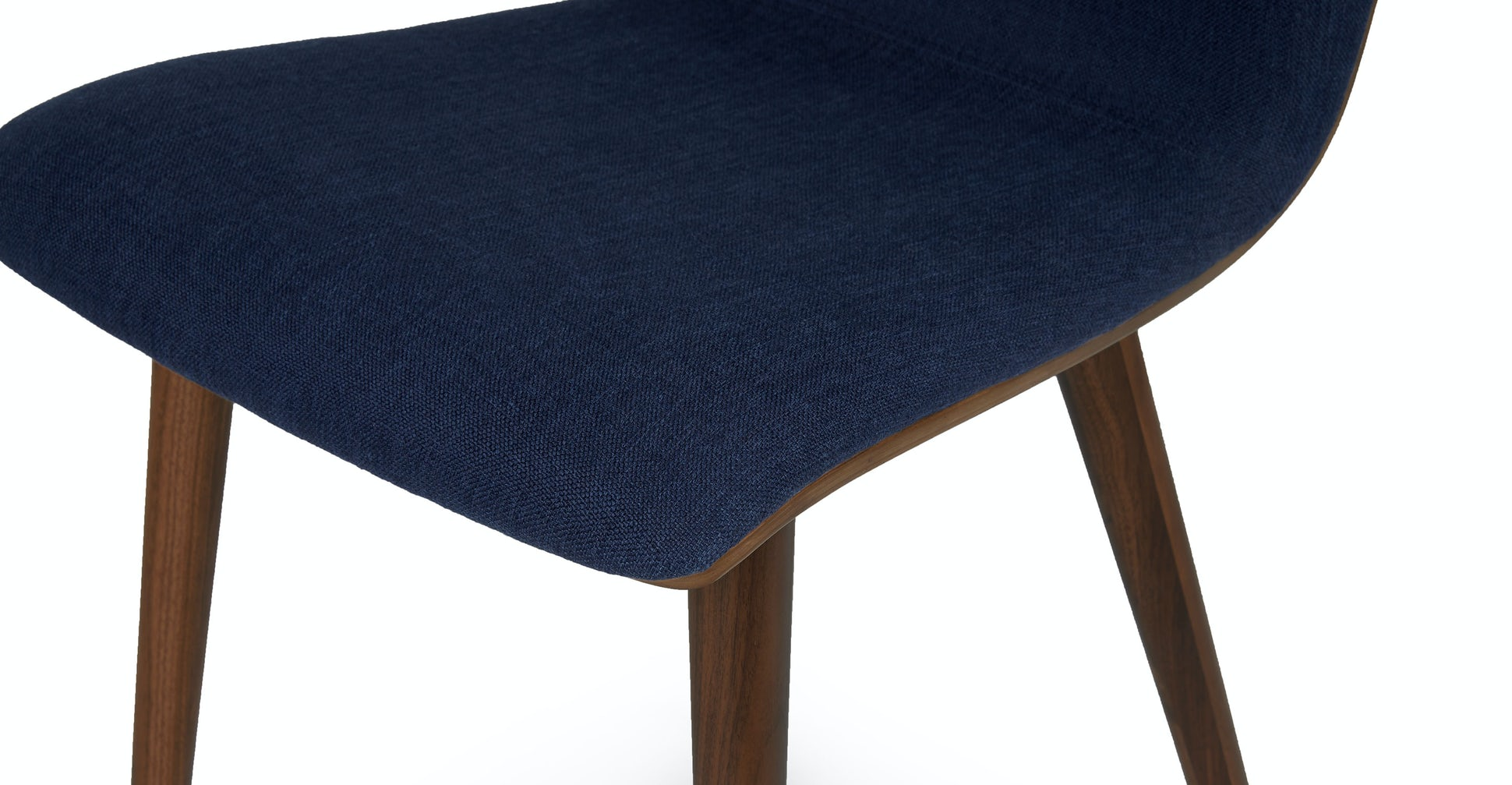 Sede Oceano Blue Walnut Dining Chair (Set of Two)
