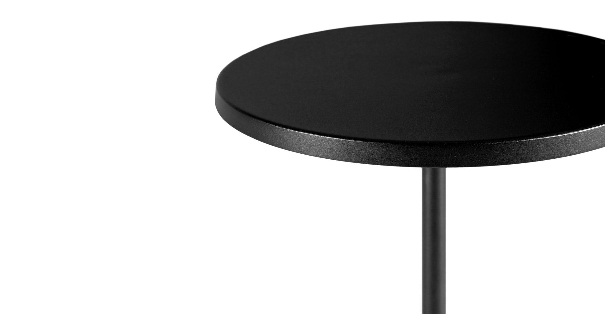 Narro Black Side Table