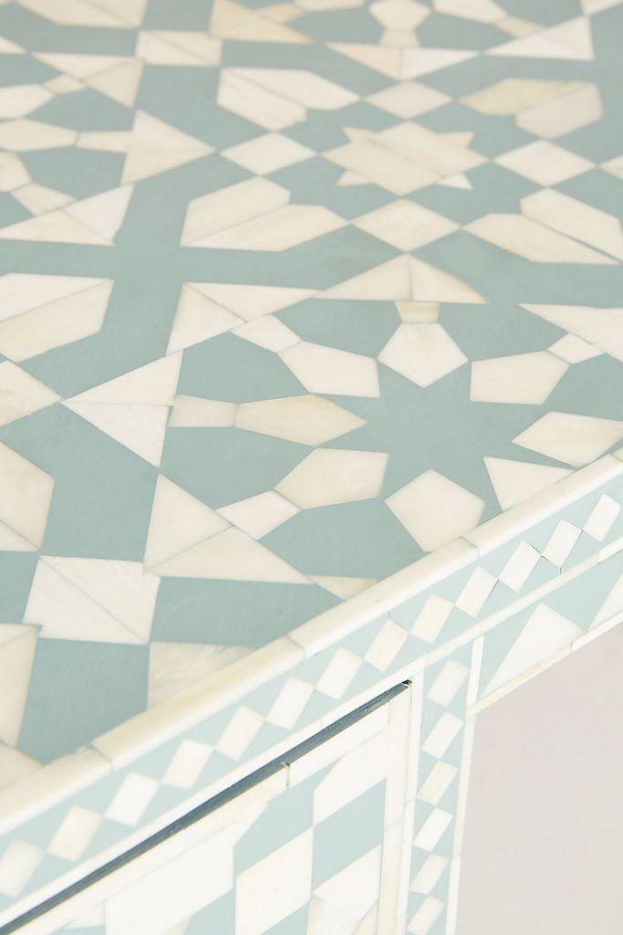 Moroccan Inlay Desk