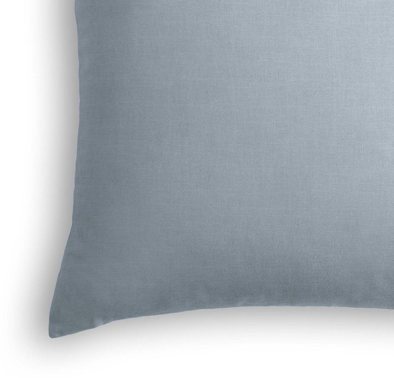 """Classic Linen Pillow, Dusk, 20"""" x 20"""", down insert"""