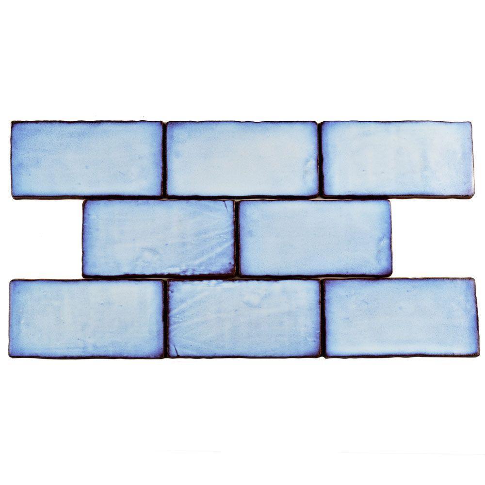 Merola Tile Antic Special Via Lactea 3 in. x 6 in. Ceramic Wall Tile (1 sq. ft. / pack), Via Lactea/Medium Sheen