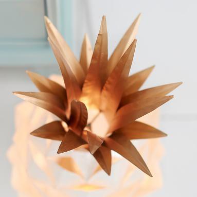 Lilly Pulitzer Capiz Pineapple Lamp