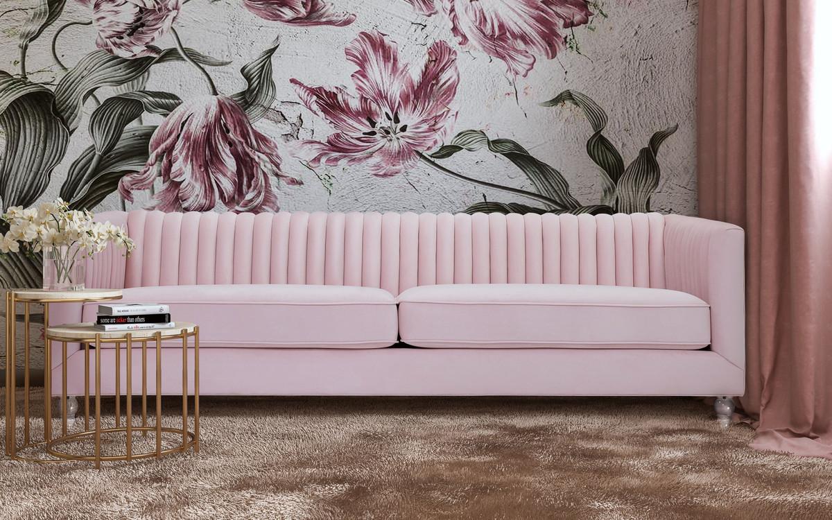 Ellie Blush Sofa