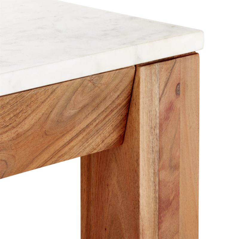 """""""palate marble 36"""""""" rectangular counter table"""""""