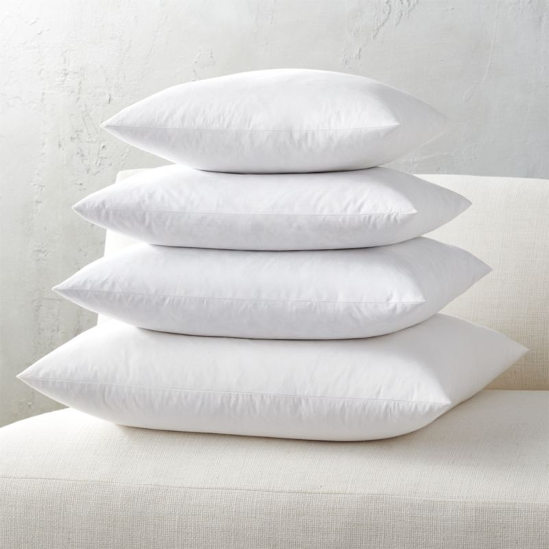 """""""20"""""""" feather-down pillow insert"""""""
