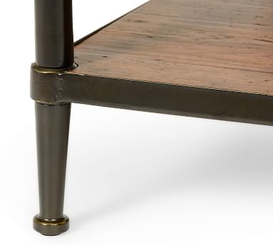"Juno Reclaimed Wood Rectangular Coffee Table, 48""L"