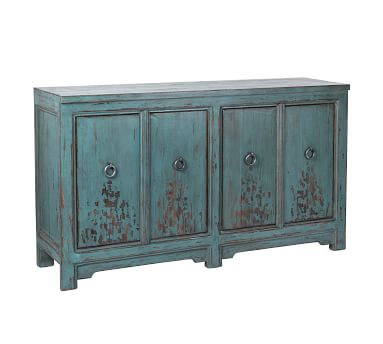 Ashworth Buffet Cabinet, Royal Blue