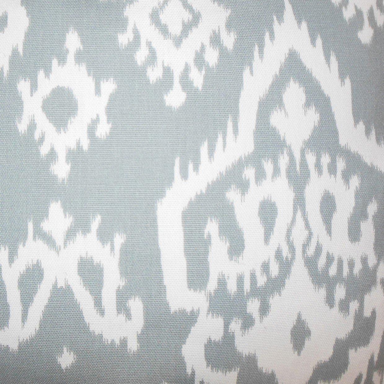 Baraka Ikat Pillow Gray - 20x20 With down insert