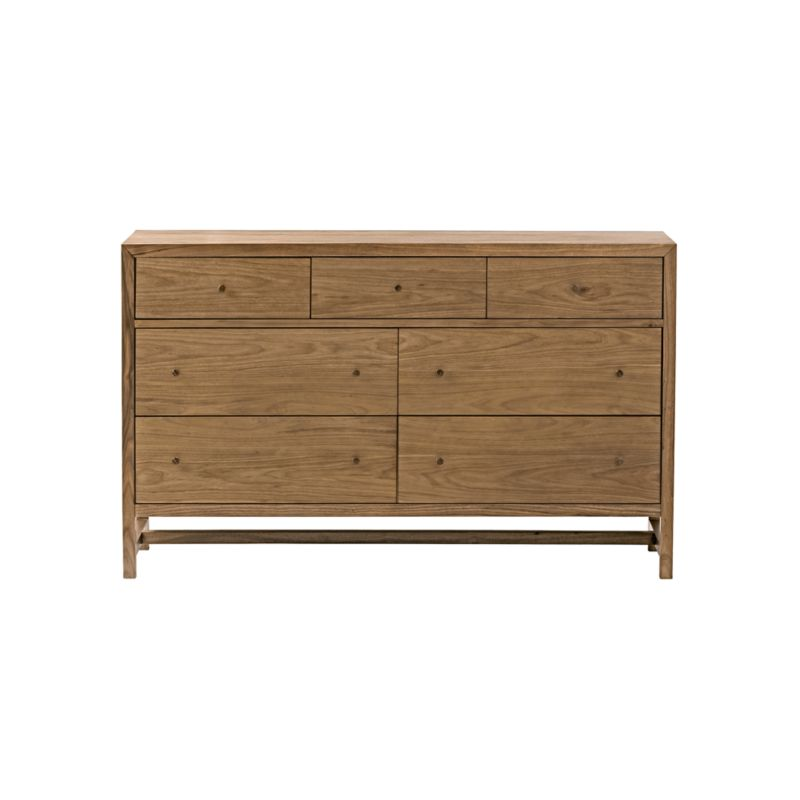 Kids Taylor Walnut 7-Drawer Dresser