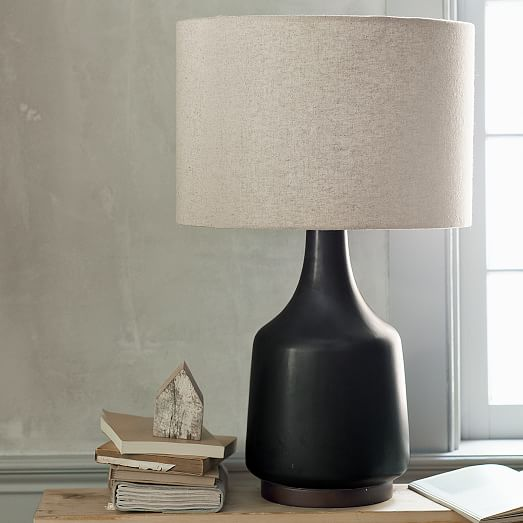 Morten Table Lamp, Black