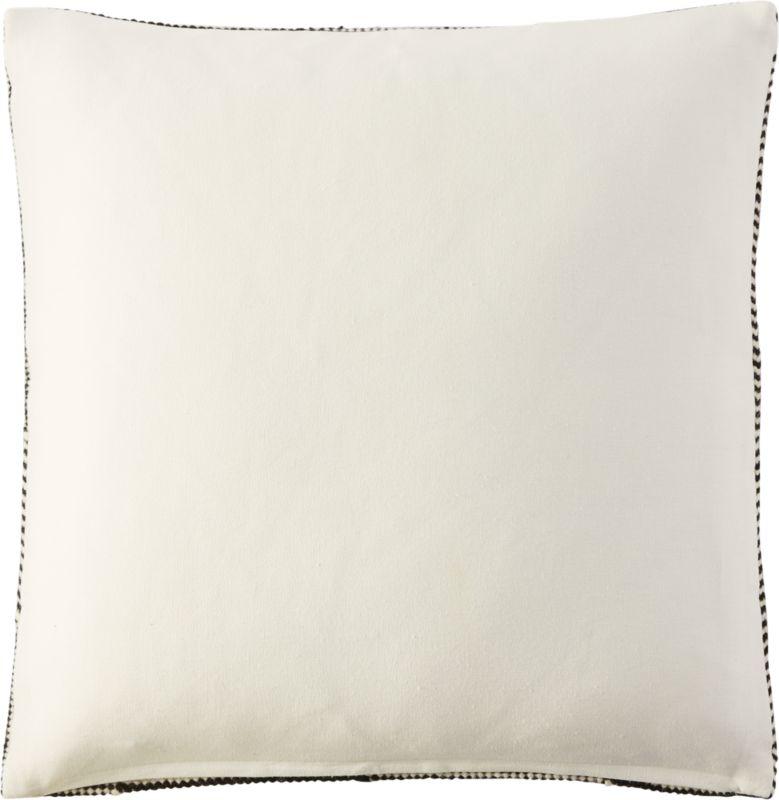 "23"" bias pillow with down-alternative insert"