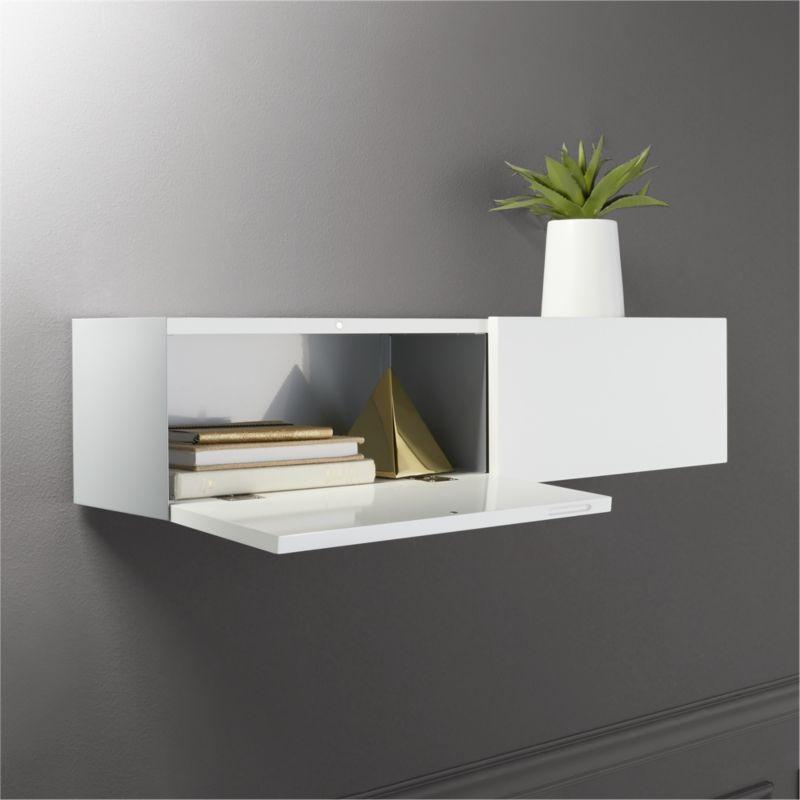 hide n' seek storage shelf