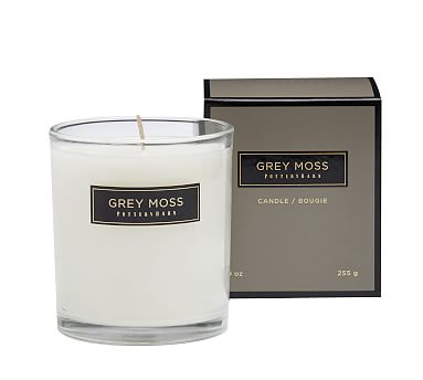 Signature Homescent Candlepot - Grey Moss
