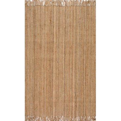 Elana Hand-Woven Brown Area Rug