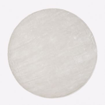 Lucent Rug, Frost Gray, 6 ' Round
