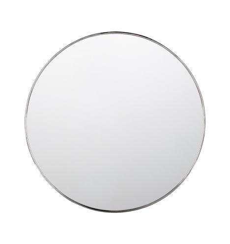 """30"""" Metal Framed Mirror - Round"""