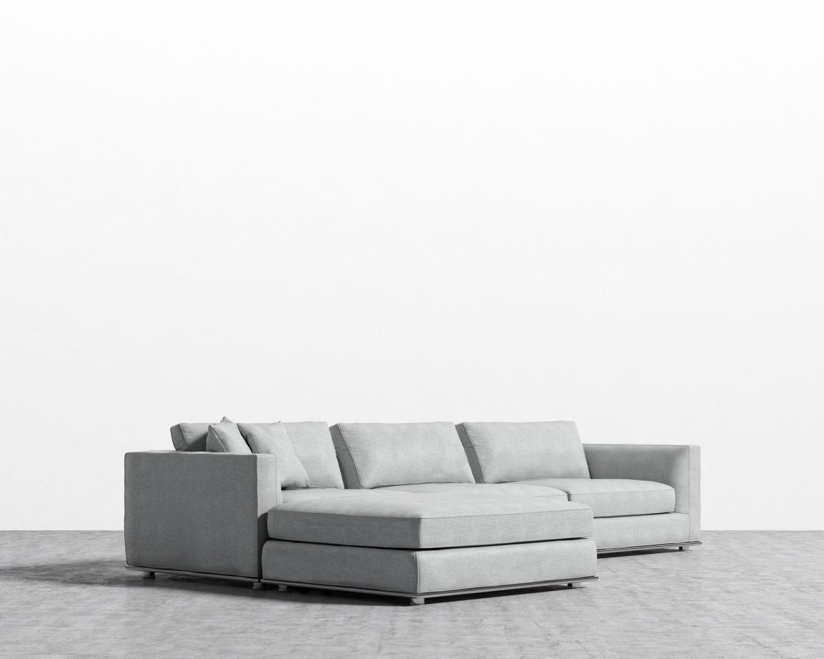 Milo Modular Sectional - Arctic Grey