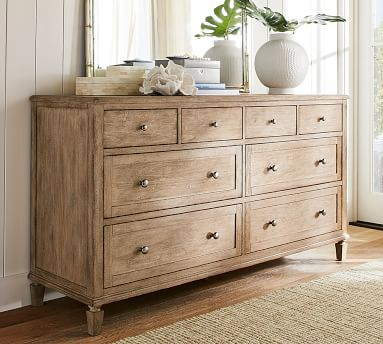 Sausalito 8-Drawer Wide Dresser, Seadrift