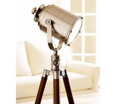 Photographer's Tripod Floor Lamp, Bronze Finish