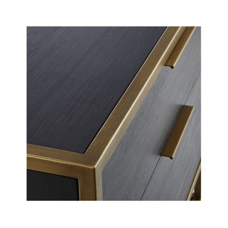 Oxford Black Lateral File Cabinet