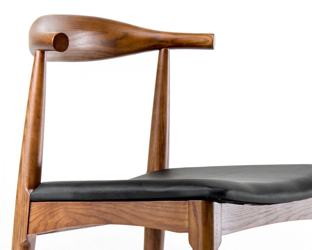 Elbow Chair - Monaco Black Walnut Stain