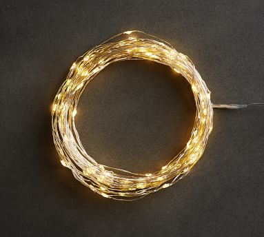 Mini Led String Lights, Silver - 50 Ft