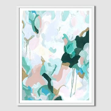 """Minted for west elm, Mystic, 32""""x42"""""""