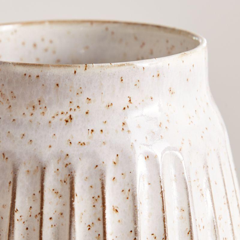 Mara Cream Vase Medium