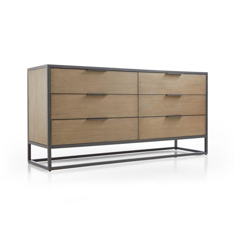 Oxford Shale 6-Drawer Dresser