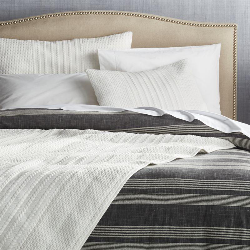 Doret White Euro Pillow Sham
