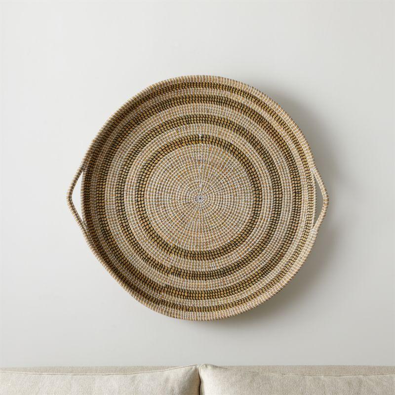 Dana Round Basket Wall Art