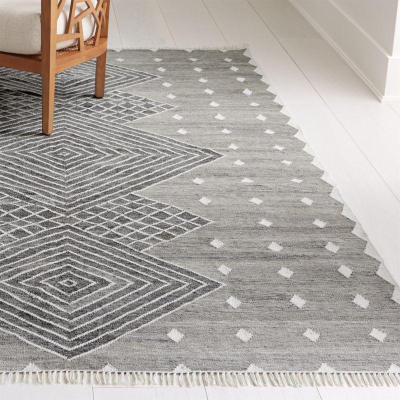 Ceri Grey Indoor/Outdoor Rug 9'x12'