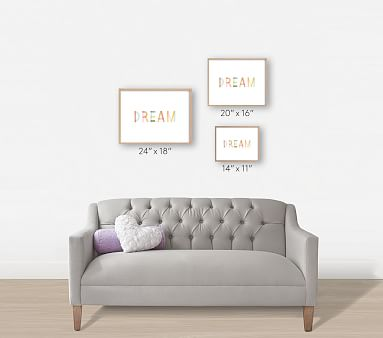 Dreaming in Color Wall Art by Minted(R), 14x11, White