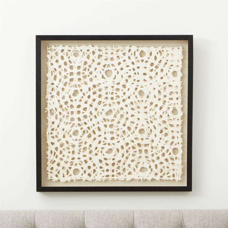 Natural Circles Paper Wall Art