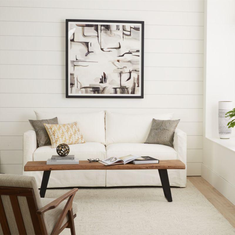 Willow Apartment Sofa - Monet, Champagne