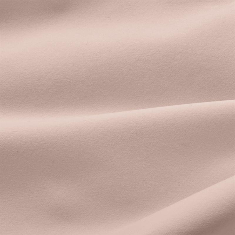 Washed Organic Cotton Blush Queen Sheet Set